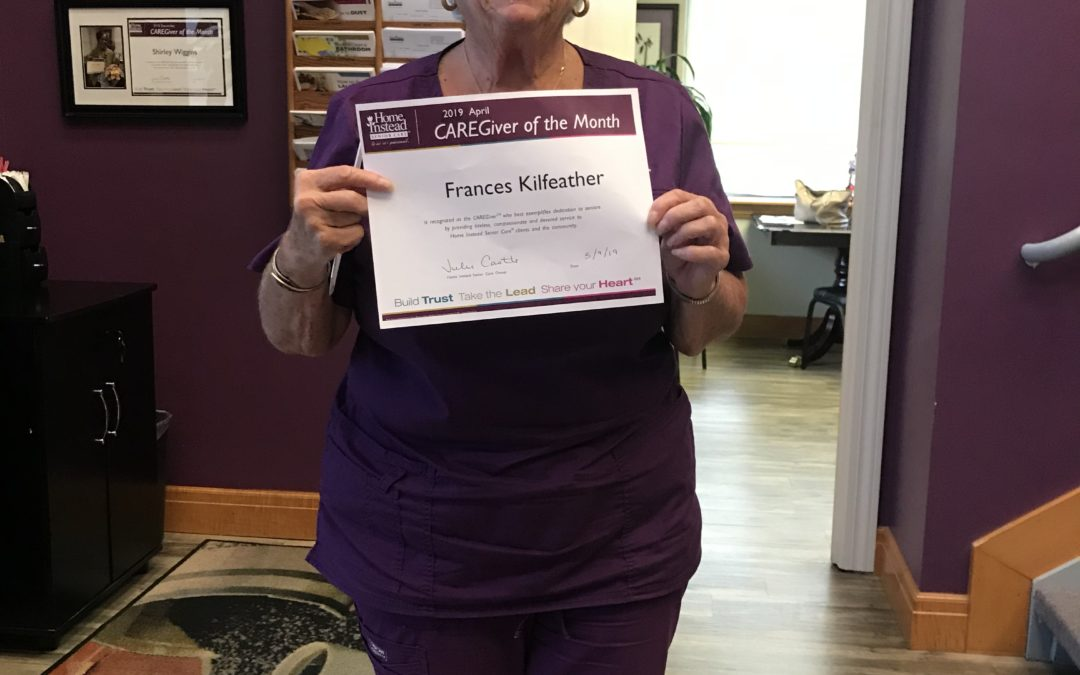 April 2019 – Family Caregiving Inspired Fran to Join Home Instead