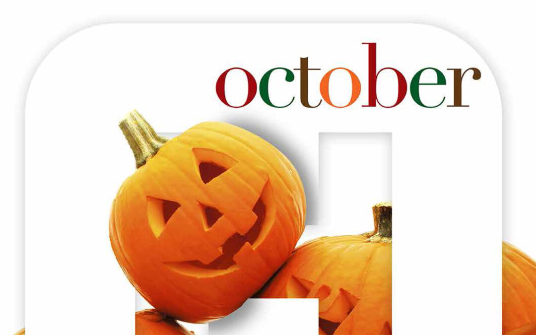October Health Tips and National Observations