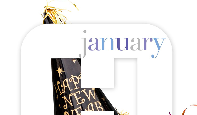 January Health Tips and National Observations