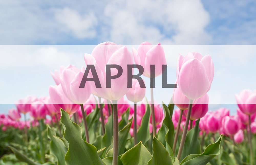 April Health Tips and National Observations