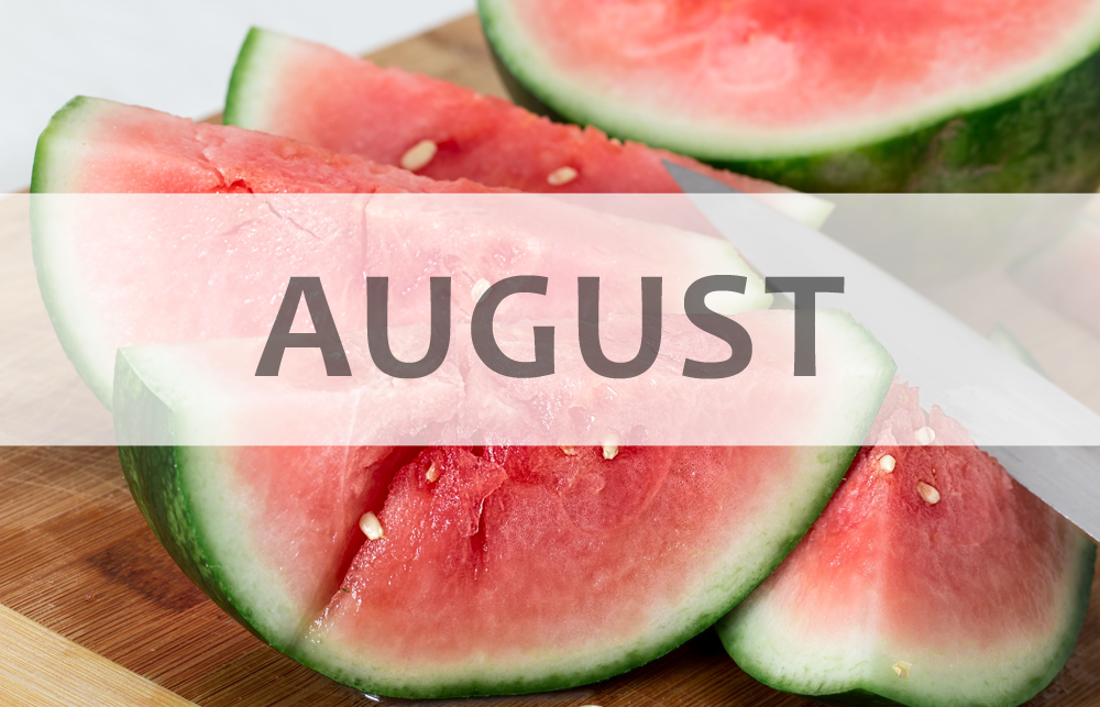 August Health Tips and National Observations